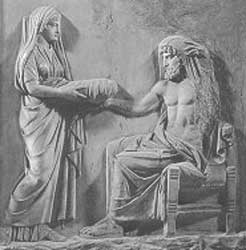 Rhea en Cronus