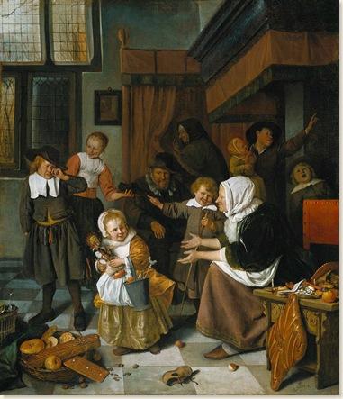 00 Jan Steen Sinterklaasmorgen