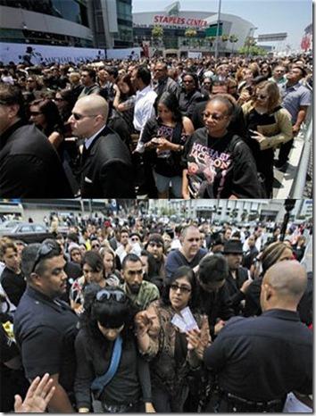 迈克尔·杰克逊追悼会十大震憾场面 - 今方 - 今方的博客