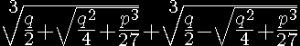formulacubica